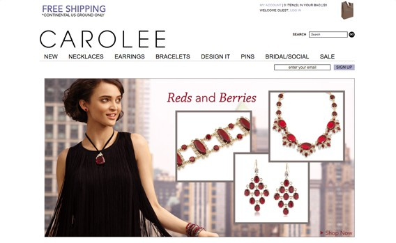 Carolee New York jewelry