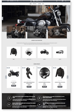 Motorcyle Store
