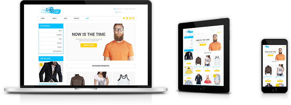 Create your own online shopping website