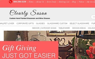 eCommerce Story - Clearly Susan