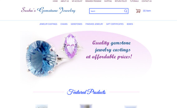 Sasha's Gemstone Jewelry