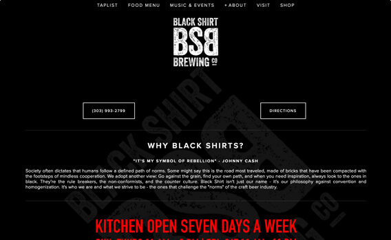 Black Shirt Brewing