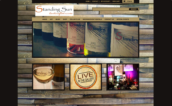 Standing Sun Handcrafted Wines