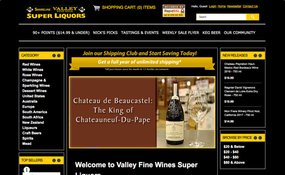 Valley Fine Wine Super Liquors