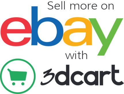 ebay and 3dcart