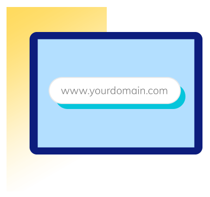 Use of Your Own Domain Name