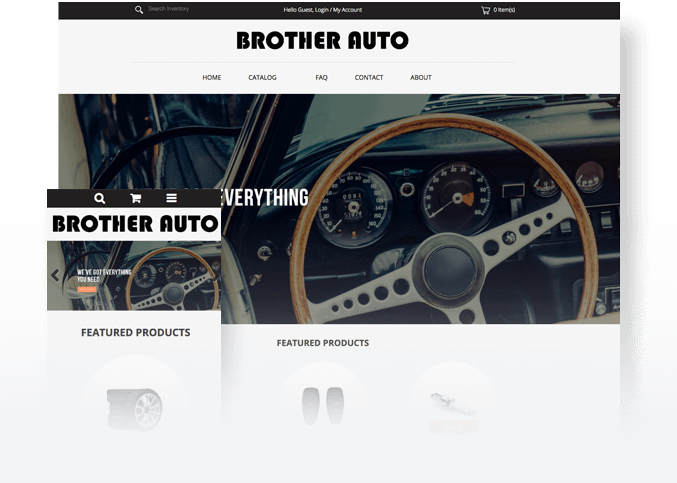 Create an Auto Parts Website | How to Sell Car Parts Online
