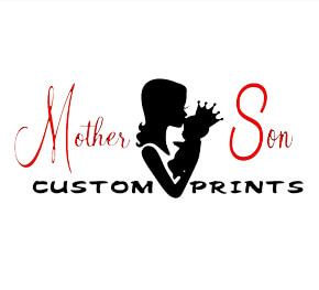 Mother and Son Custom Prints