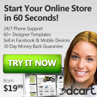 Start your online store in 60 seconds