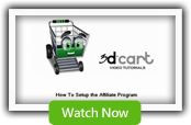 Affiliate Program - 3dCart Shopping Cart Software