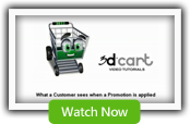 Applying Promotions - 3dCart Shopping Cart Software