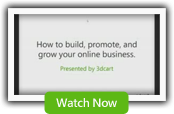 How to Build, Promote, and Grow your online business. Presented by 3dCart