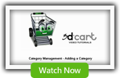 Category Manager - 3dCart Shopping Cart Software