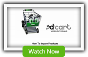 Importing Products - 3dCart Shopping Cart Software