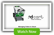 Order Manager - 3dCart Shopping Cart Software
