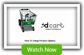 Product Options - 3dCart Shopping Cart Software