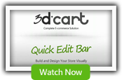 Design your Online Store in 60 seconds with the Quick Edit Bar