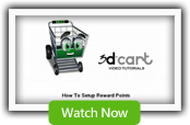 Reward Points - 3dCart Shopping Cart Software