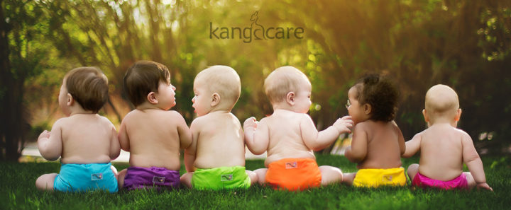 Babies in Rumparooz from Kanga Care