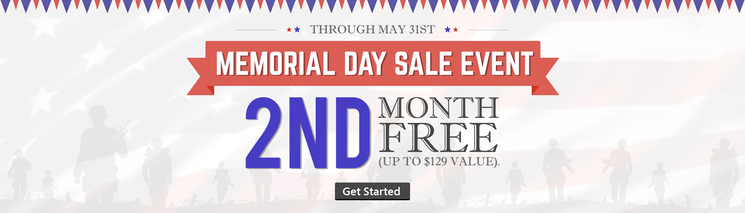 Memorial's Day Sale